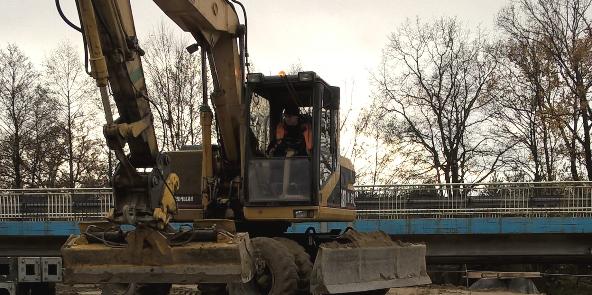 Postęp prac w miejscowości Bocheniec